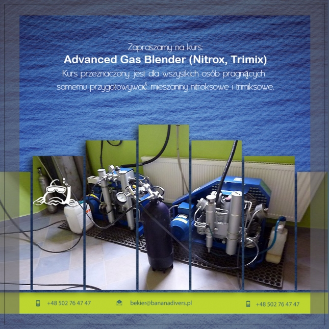 Advanced Gas Blender (Nitrox, Trimix)